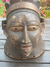 Antique African Tribal Head Mask