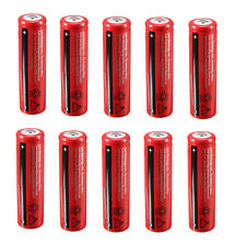 10x Elfeland 18650 3.7V 3800mAh Rechargeable Batterie Li-ion Battery Flashlight