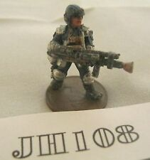 OOP Games Workshop IPC JD4 Riot Judge with Stum Gun 1985 Metal Ref JH108
