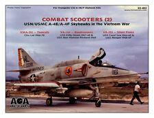 AOA decals 1/32 COMBAT SCOOTERS (2) USN/USMC A-4E A-4F Skyhawks in Vietnam War