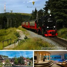 5 Tage Harz Luxus Wellness Kurzurlaub 3★ Hotel Habichtstein Alexisbad Kurzreise