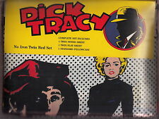madonna dick tracy bed set new sheets & pillow case twin