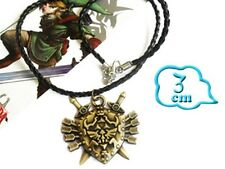 Zelda Legend of Zelda Link  Triforce Necklace Pendentif Halskette Collier