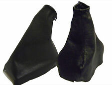 OPEL ASTRA G  GEAR AND HANDBRAKE GAITER 100% GENUINE LEATHER MODELS 1998 TO 2004
