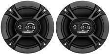 "NEW (2) 6.5"" Car Door Speakers.Shallow Mount.Pair.6-1/2.six half inch.4 ohm.Auto"