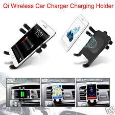 Auto Ladegerät Cradle Qi Wireless Transmitter Halter Für Samsung Galaxy S6 S7 DE