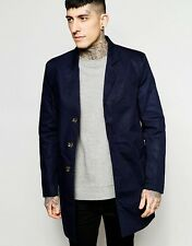 Only & Sons Overcoat/Jacket In Navy L - Chest 40 - 42''