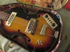 HOFNER BEATLE BASS COPY MADE IN JAPAN LATE 60'S COOL!!!!!