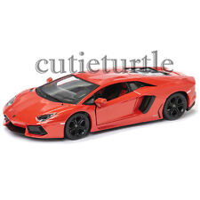 MAISTO Lamborghini Aventador LP 700-4 1:24 Diecast Model Car 34210 Orange