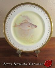 Gorgeous Antique Royal Doulton T. Wilson Signed Hand Painted Bass Fish Plate