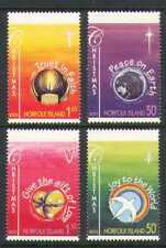 Norfolk Island 2003 Christmas/Bird/Earth 4v set n21053