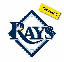 MLB Tampa Bay Rays Car Truck Sticker Decal Free Shipping Special !! T1