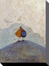 SAM TOFT (AMOR ENCENDIDO A MOUNTAIN TOP) Lienzo Estampado 30 X 40cm