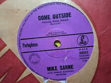 "Mike Sarne featuring Wendy Richard ""Come Outside"" MISS BRAHMS Oz 7"""