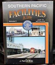 MORNING SUN BOOKS - SOUTHERN PACIFIC FACILITIES Vol. 2 In Color - HC 128 Pages