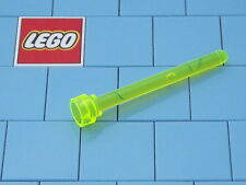 Lego 3957 1x4 Antenna Trans Neon Green X 2 NEW