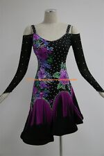 Tassel Latin Dance Dress Clothing Salsa Costume Ballroom Competition Skirt/4