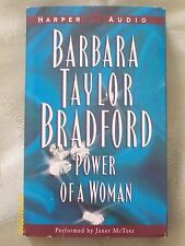 Power of A Woman by Barbara Taylor Bradford (4 Cassettes, Abridged - 2003)