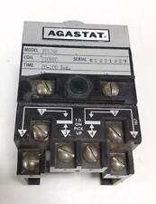AGASTAT 20-200SEC. 250VDC TIMING RELAY 7012SE, DIAL MISSING