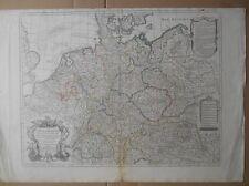 Carte d ' ALLEMAGNE par de l ' Isle en 1788