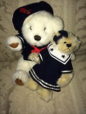 2 Sailor Bears 1996 Brass Button Pickford Taylor Happiness Bear 1993 TY Breezy