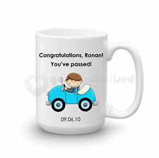 Personalised Congratulations Passed Driving Test Gift Large Mug For Men Boys #4