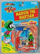 Looney Tunes Marvin the Martian figure with Plutonium 2000 Missile MOC Tyco 1993