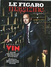 LE FIGARO MAGAZINE N°21797 5 SEPTEMBRE 2014  SPECIAL VIN/ PERUGIN/ TOMASEVIC