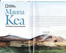National Geographic Map - MAUNA KEA The World's Tallest Mountain & More