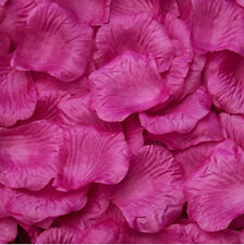 100 Simulation Rose Petals Artificial Flower Wedding Supplies Confetti Color 5
