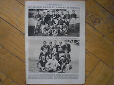 EQUIPE FOOTBALL RUGBY 1921 ECOLE POLYTECHNIQUE OLYMPIQUE LYON  MIROIR SPORTS