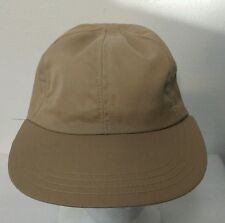 NEW OLD SOCK TRUE VINTAGE Fited khaki cap hat from the 60's hipster BOHO 7 1/8 X