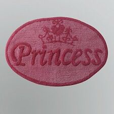 "Princess area rug Disney carpet Accent bath Mat 20"" x 30"" Tufted cotton new"