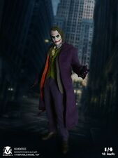 18inches Batman The Joker Figure 1/4 MOMTOYS MOM2003 Heath Ledger Model