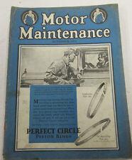 Motor Maintenance Magazine  Equipment For Motor Cars November 1927 100914lm-e
