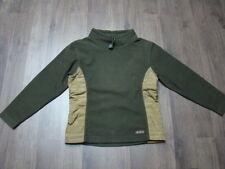 S.OLIVER Mädchen Fleece Pulli Tunika SHIRT S 140 Pullover Mädchen grün khaki