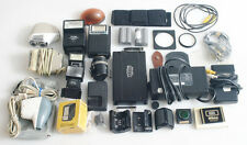 MISCELLANEOUS PHOTOGRAPHIC EQUIPMENT MIXED LOT AS IS