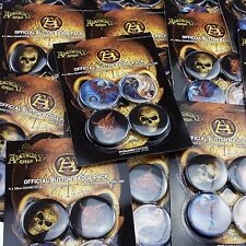 50 x Alchemy England Gothic 38mm Badge Packs New Official Wholesale Job Lot