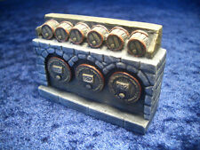 Tavern Shelf Thomarillion Unpainted Terrain D&D Dwarven Forge