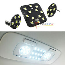 3PCS White 24-SMD LED Interior Rear Dome Map Lights Package VW MK6 GTi Golf & CC