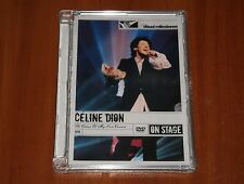CELINE DION THE COLOUR OF MY LOVE LIVE CONCERT DVD 1993 TOUR CANADA SEALED
