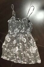 New Grey Ladies Women's Teen Sun Dress Size 12 By American Eagle Easter Summer