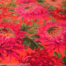SHAGGY RED Spring 2015 Philip Jacobs Kaffe Fassett Sold in 1/2 yd increments