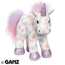 Webkinz PEACE UNICORN HM493 NEW With  Sealed Code