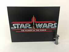 "Vintage Star Wars power of the force large logo backdrop For Display 16"" x 12"""