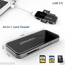 All-in-1 USB 2.0 Multi Memory Card Reader Adapter For Micro SDHC SD TF M2 MS MMC