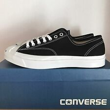 CONVERSE JACK PURCELL JP SIGNATURE OX BLACK SIZE 10 NEW IN BOX