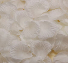 100pcs NEW Silk Flowers Rose Petals Wedding Party Floral Crafts White
