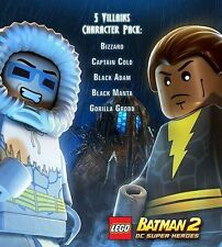 LEGO Batman 2 - Villains Character DLC Pack [Xbox 360, Live] NEW Email Delivered
