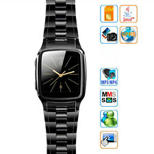 "Black 1.6"" TFT Touch Screen Watch Mobile Cell Phone with Camera Unlocked TW810"